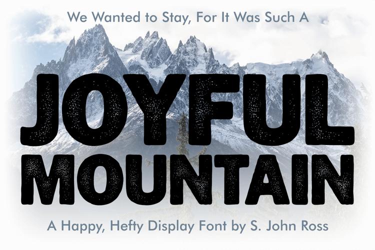 Joyful Mountain Font