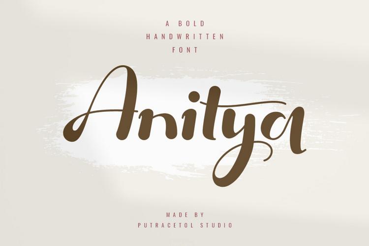 Anitya Font