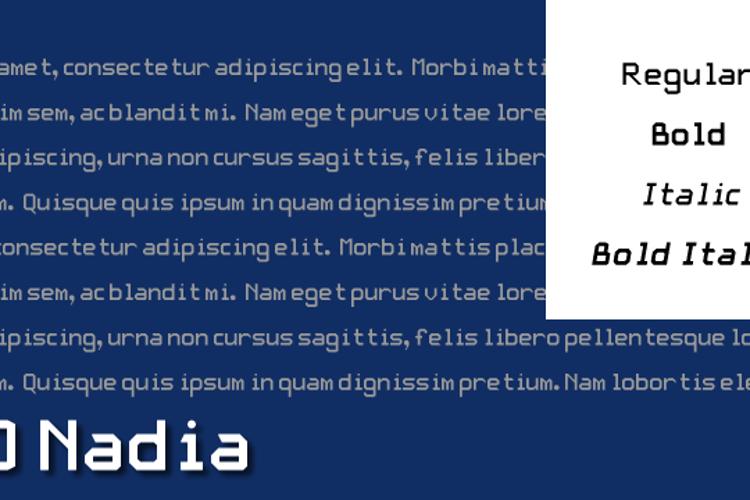 JD Nadia Font