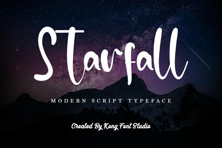 Starfall Font