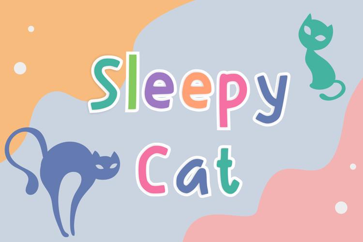 Sleepy Cat Font