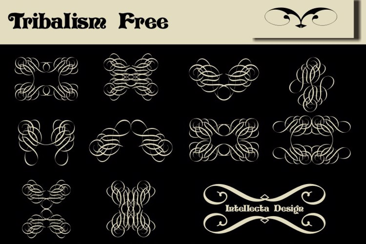Tribalism Free Font