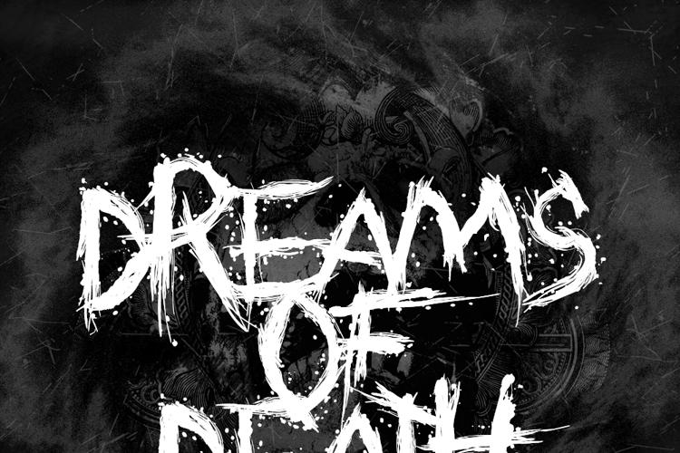 Dreams of Death Font