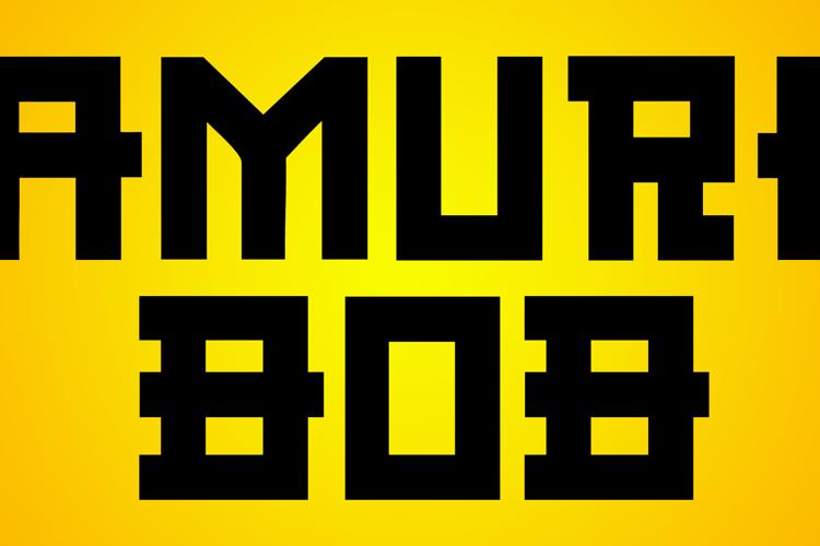 CF Samurai Bob Font
