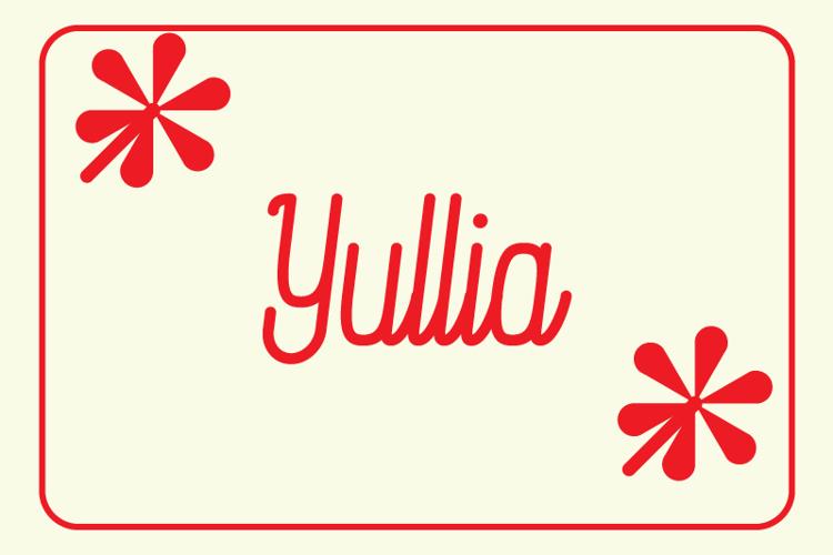 Yullia Font