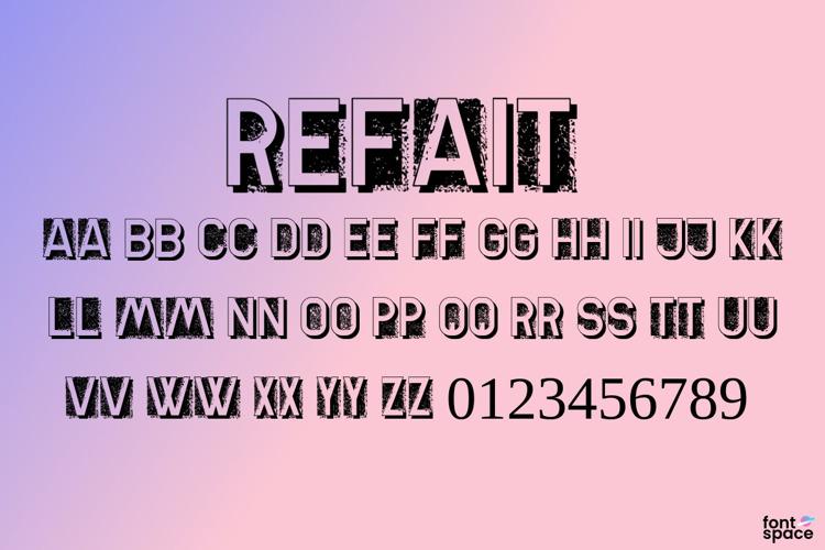 Refait Font