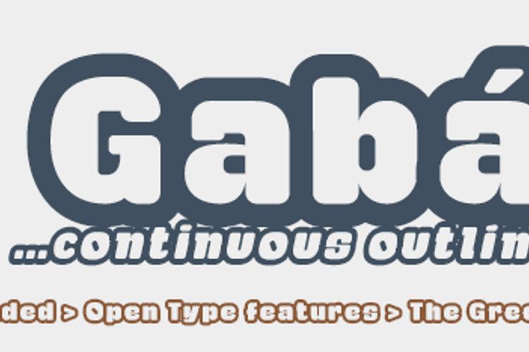 Gaban Font