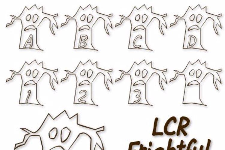 LCR Firghtful Tree Font