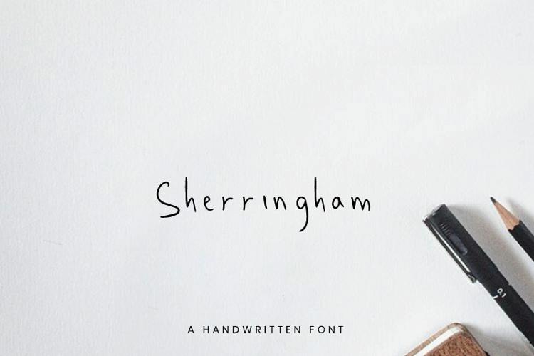 Sherringham Font