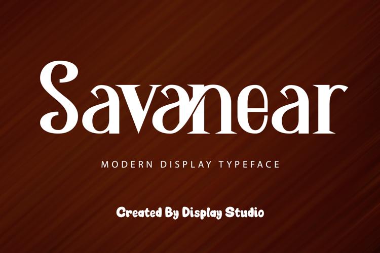 Savanear Font