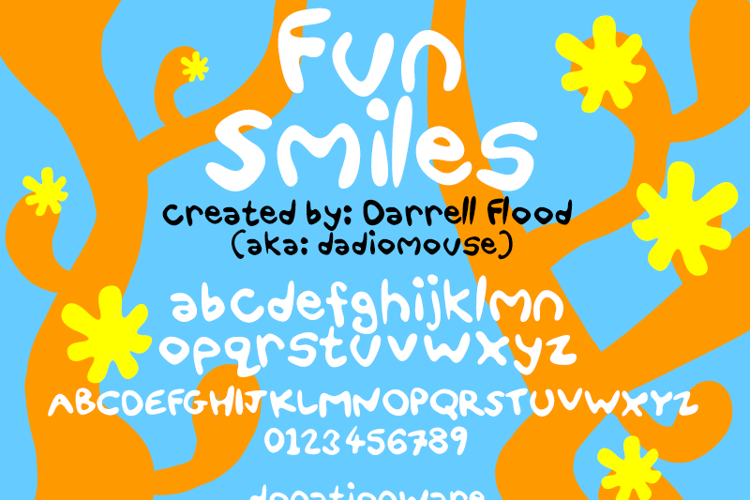 Fun Smiles Font