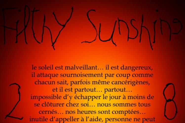 Filthy Sunshine Font