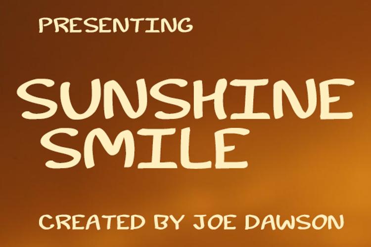 Sunshine Smile Font