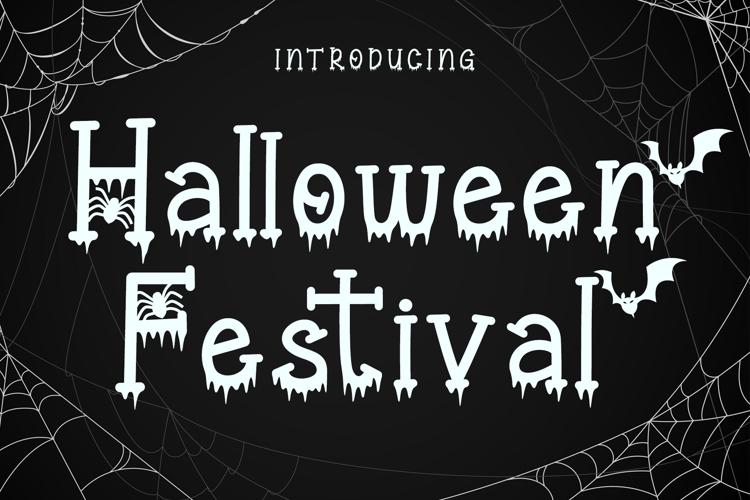 Halloween Festival Font