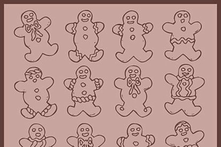 Destiny's Gingerbread Dings Font