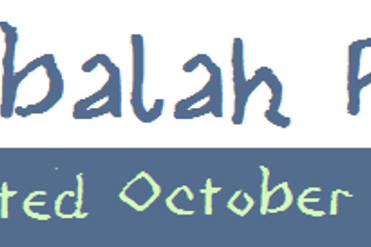 Kabbalah Font