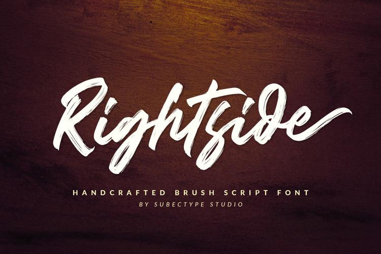 Rightside Font