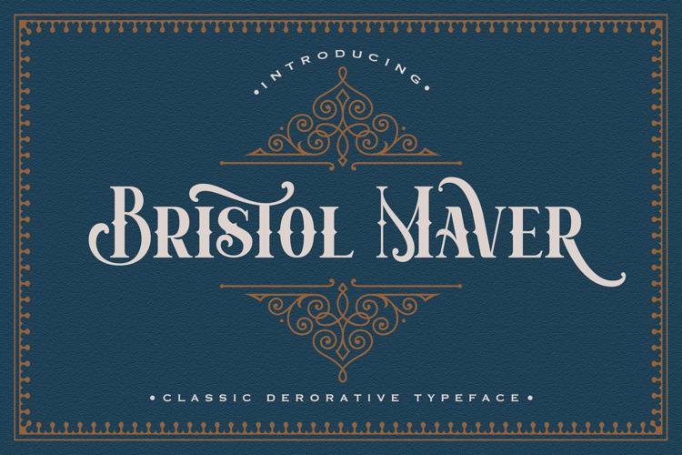 Bristol maver Font