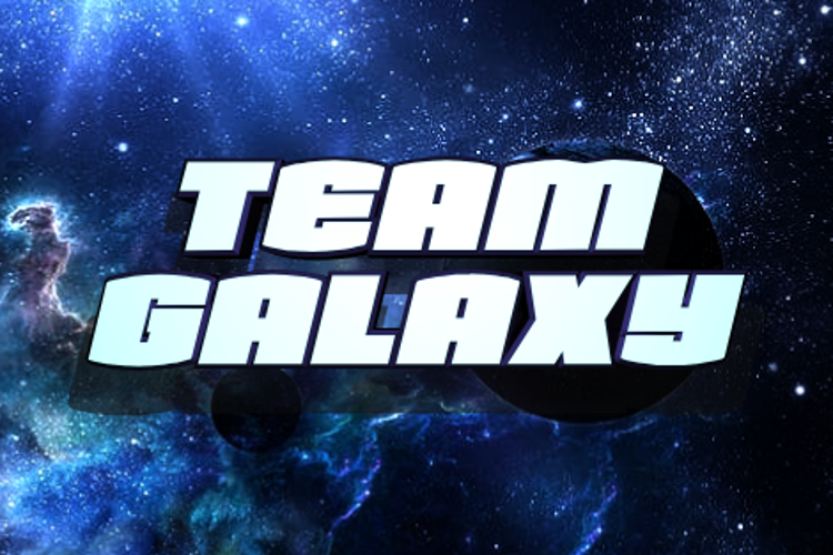 Team Galaxy Font