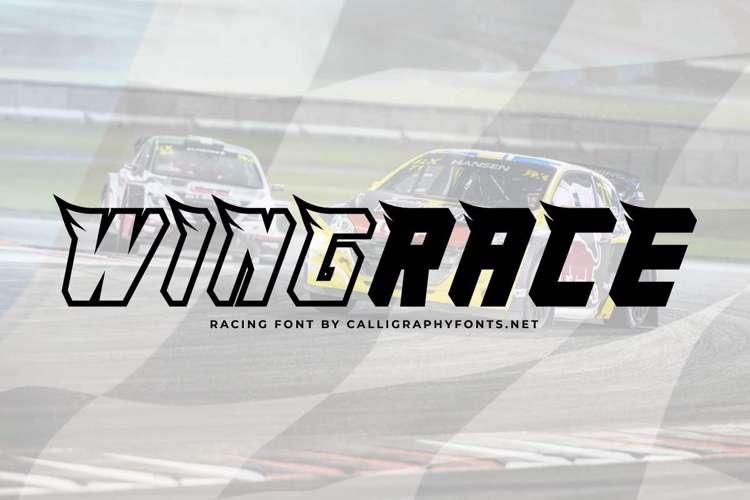 Wingrace Font
