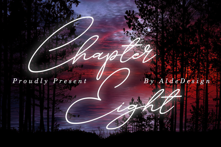 Chapter Eight Font
