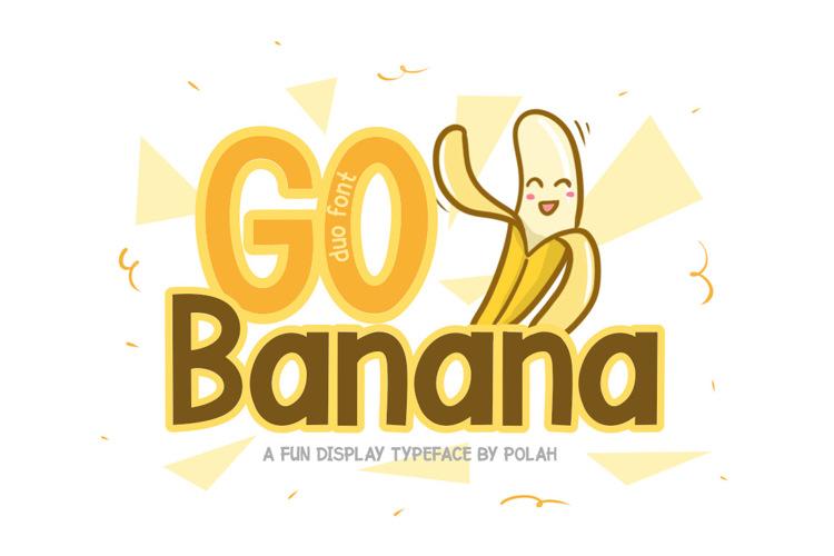 Go Banana Font