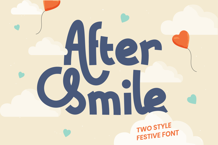 After Smile Font