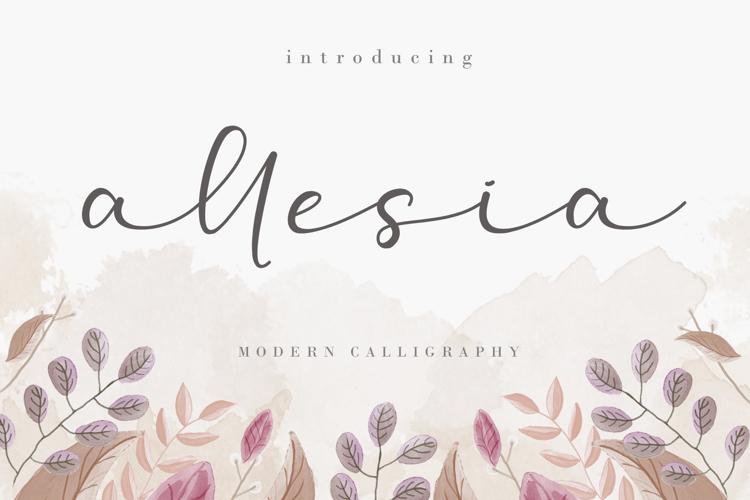 Allesia Font