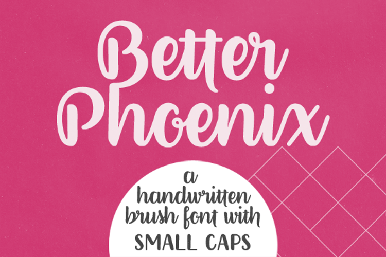 Better Phoenix Sample Font