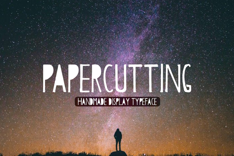Papercutting Font