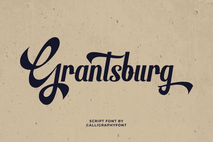 Grantsburg Font