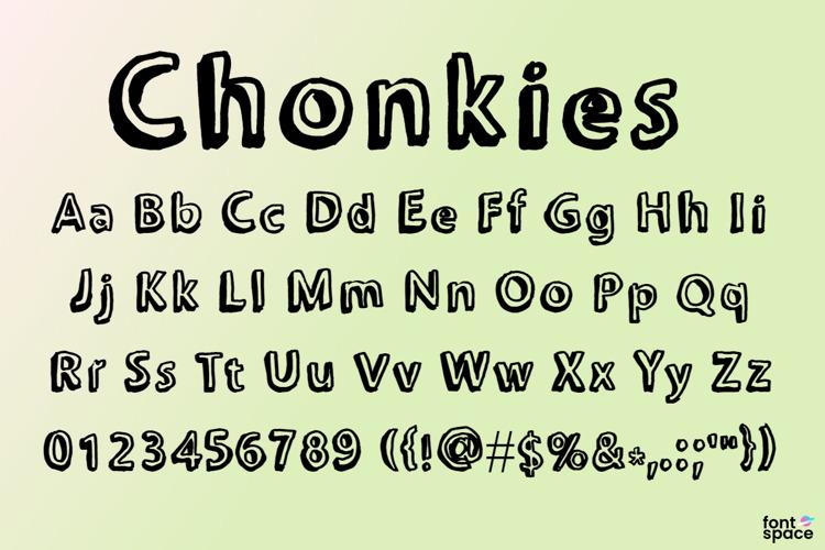 Chonkies Font