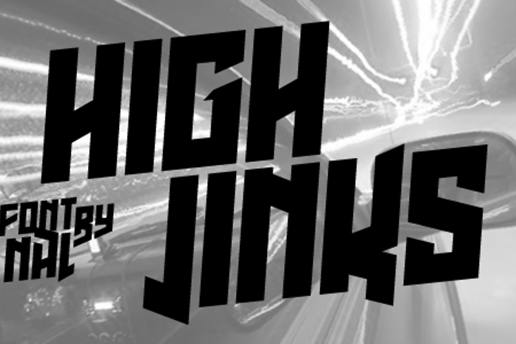 High Jinks Font