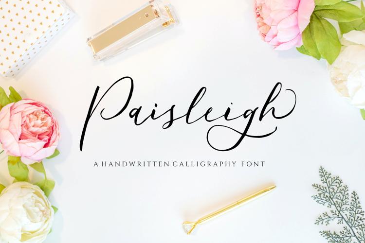 Paisleigh Font