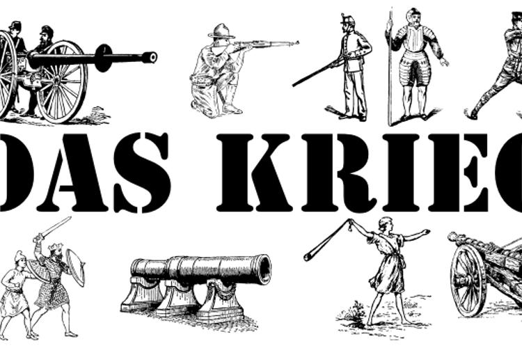 Das Krieg Font