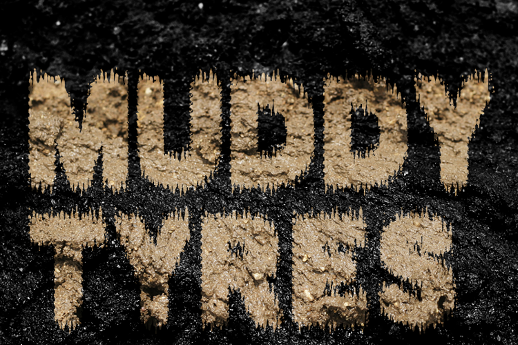 MUDDY TYRES Font
