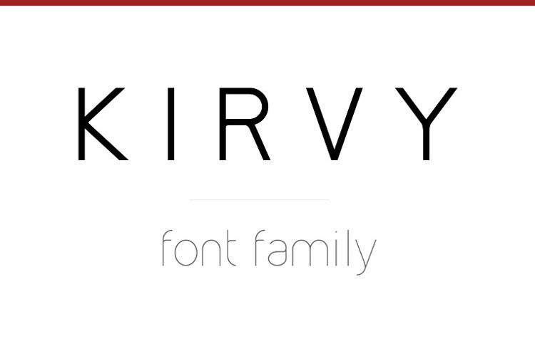 Kirvy Font