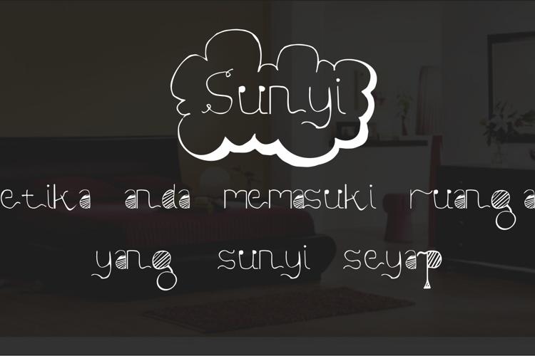 Sunyi Font