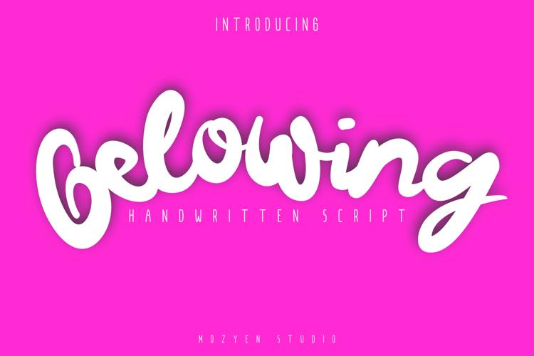 Gelowing Font