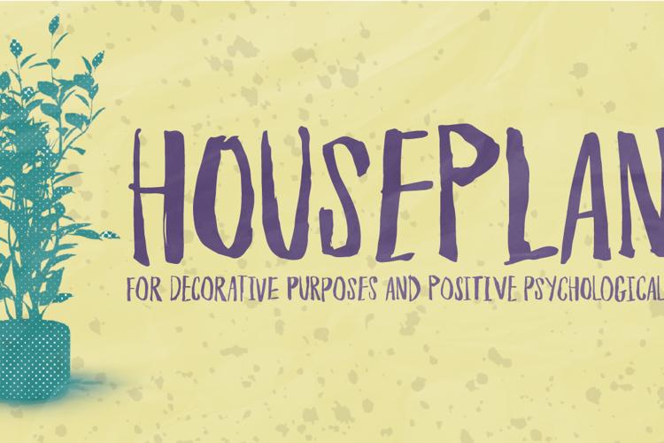 Houseplant DEMO Font