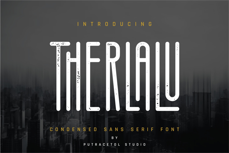 Therlalu - Free Vers Rough Font