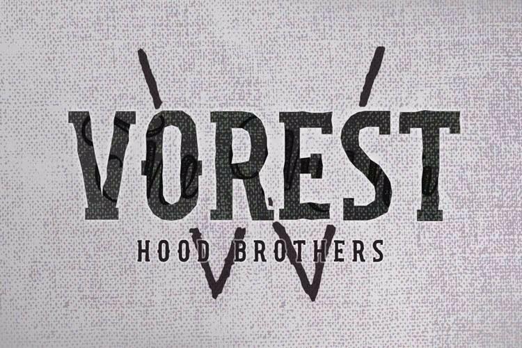 Hood Brothers Font