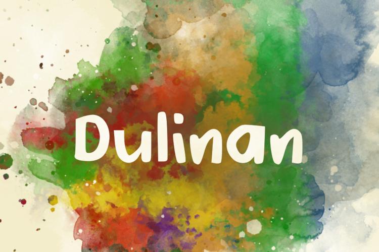 d Dulinan Font