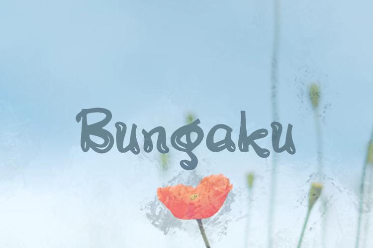 b Bungaku Font