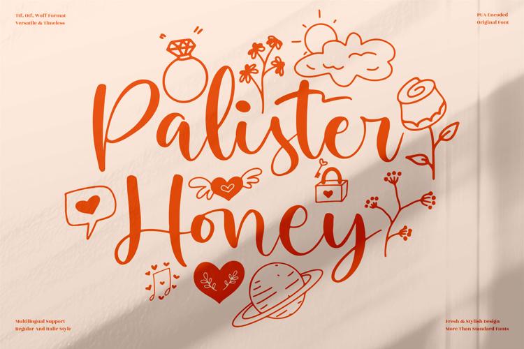Palister Honey Font