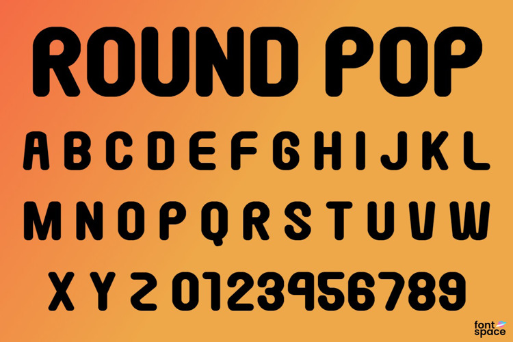 Round Pop Font