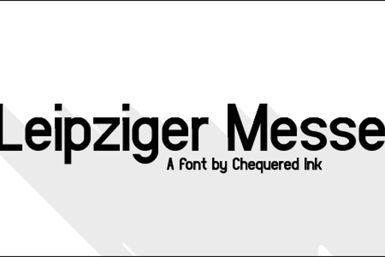 Leipziger Messe Font