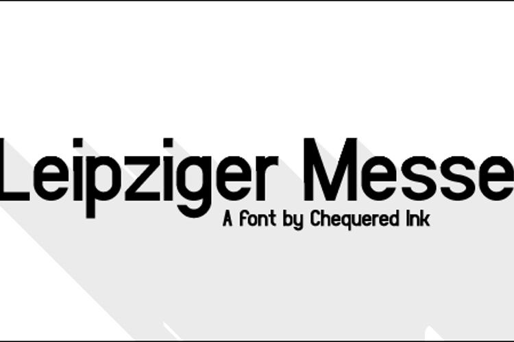 Leipziger Messe Font