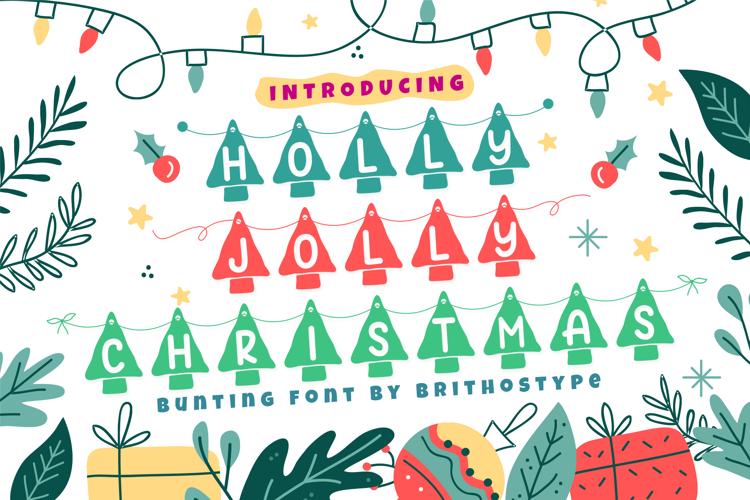 Holly Jolly Christmas Font