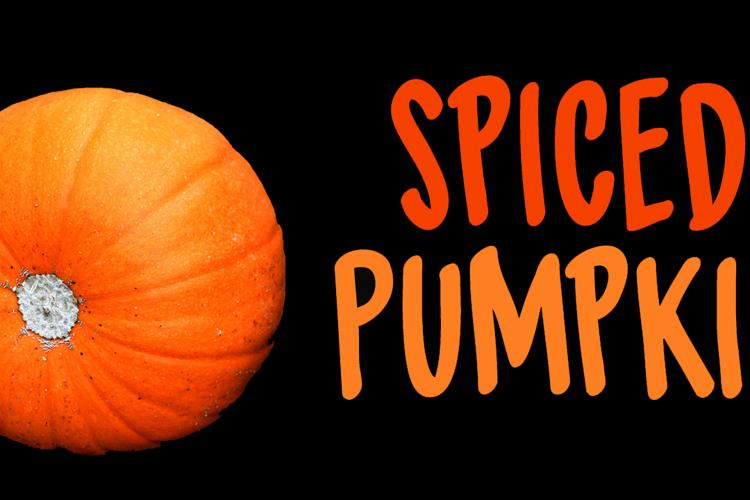 DK Spiced Pumpkin Font